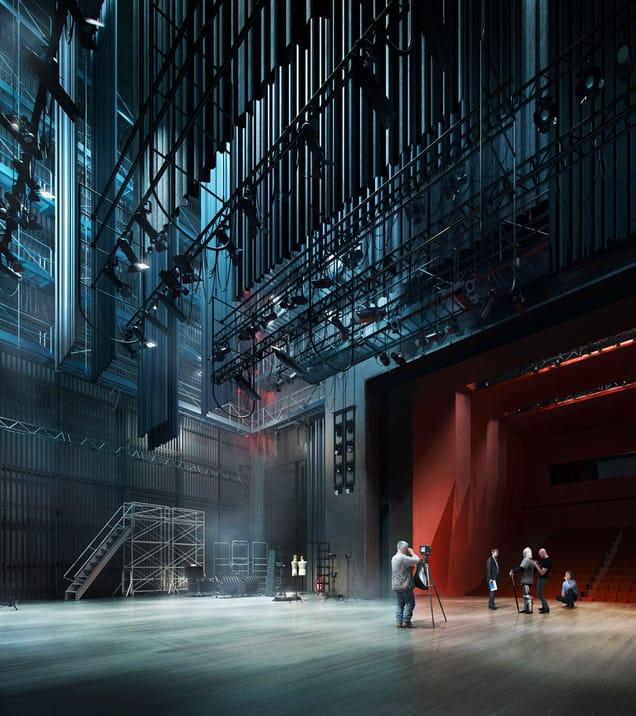 Piotr zielinski music academy architecture vray sketchup