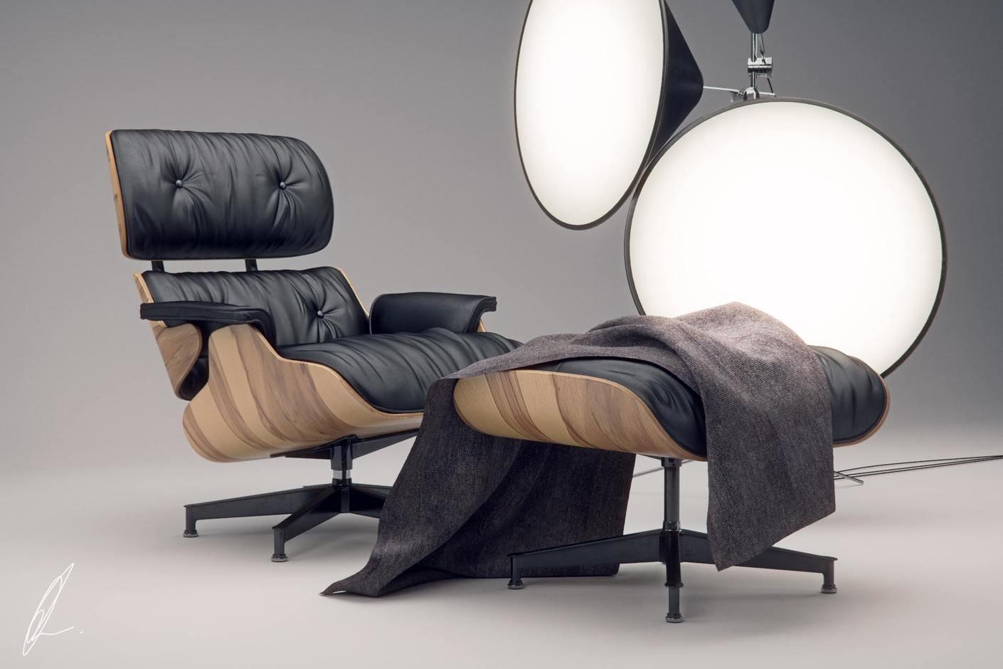 eames lounge chair – jonathan evans | chaos group