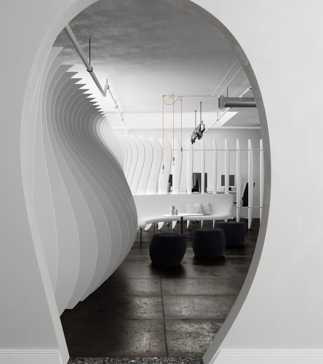 Darwin ceballos curves interior design vray 3ds max 02