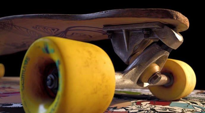 Mat monro skateboard vray maya