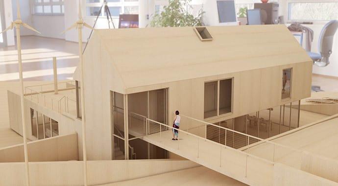V ray for revit professional rendering software for for Revit architecture modern house design 8