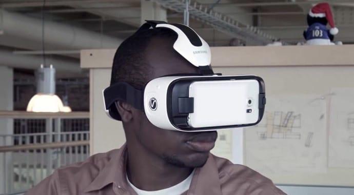 Imagem oculos VR de Realidade Virtual Vray para Revit