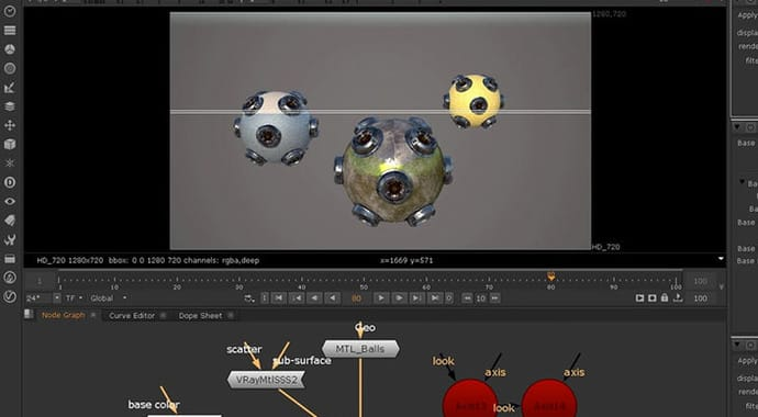 V-Ray for NUKE Shahin Toosi Materials