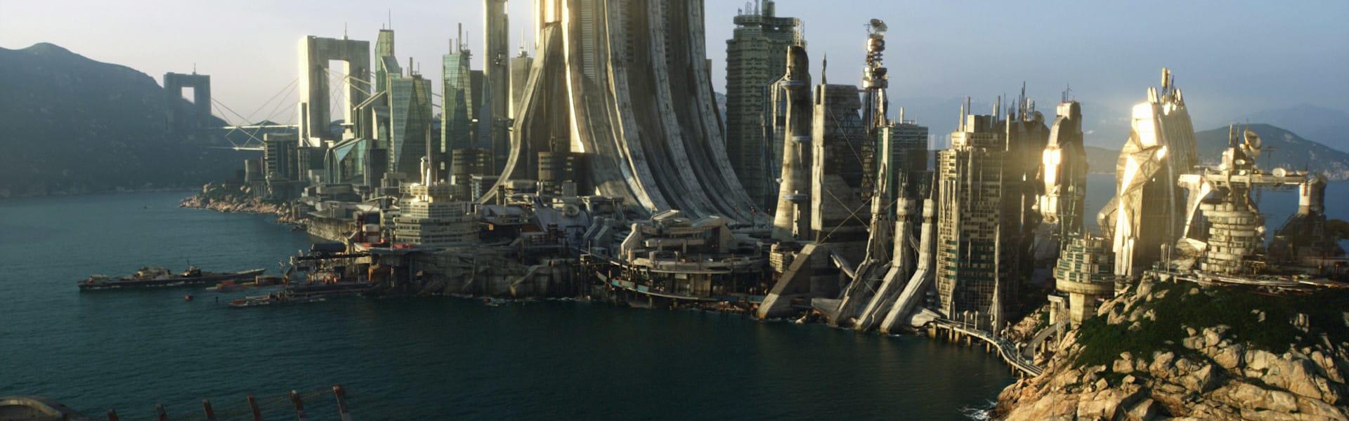 Shahin toosi sci fi city vray nuke