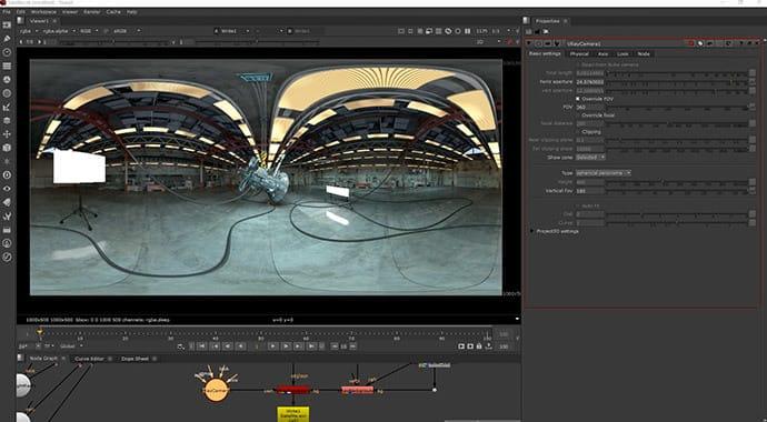 V-Ray for NUKE VR Cameras