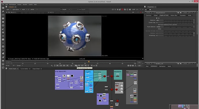 V-Ray for NUKE Node-Based Integration