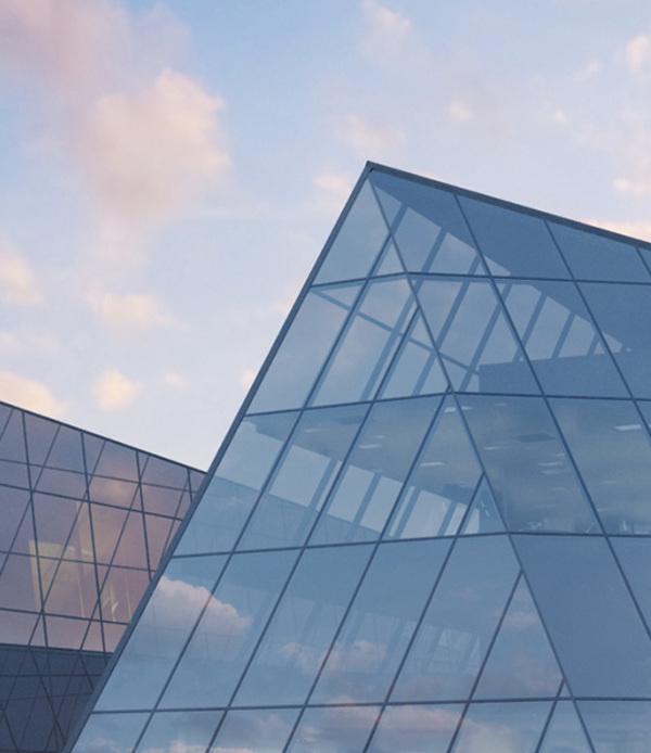 Thomas hauchecorne glass pyramid architecture vray sketchup