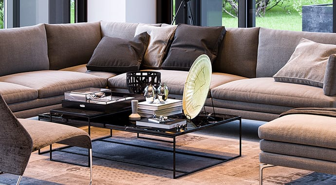 Double aye living room interior vray 3ds max 01 thumb