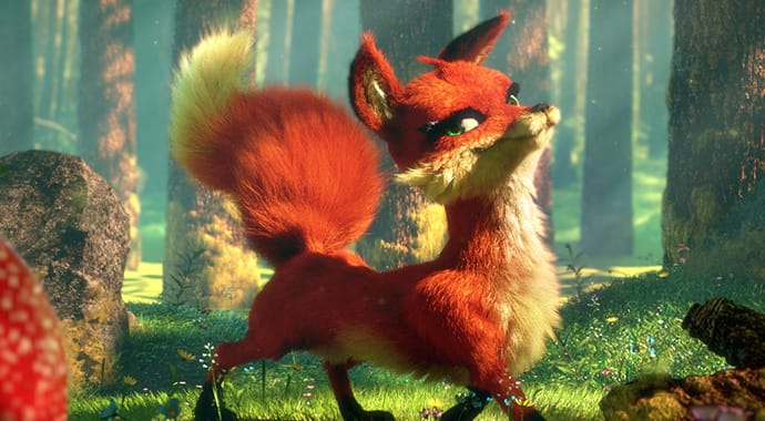 Ludovic lieme fox tale art vray 3ds max thumb