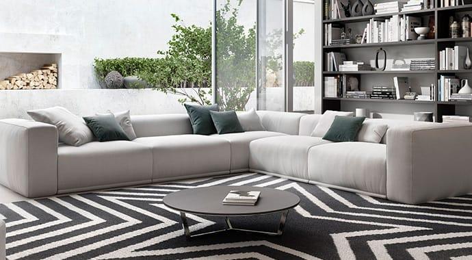 Viarde poliform sofa interior design vray 3ds max 01 thumb