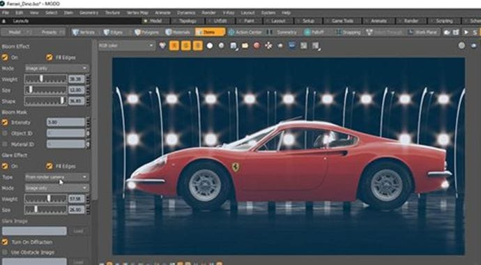 V-Ray for MODO Frame Buffer