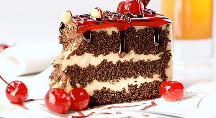 Cake by V-Ray