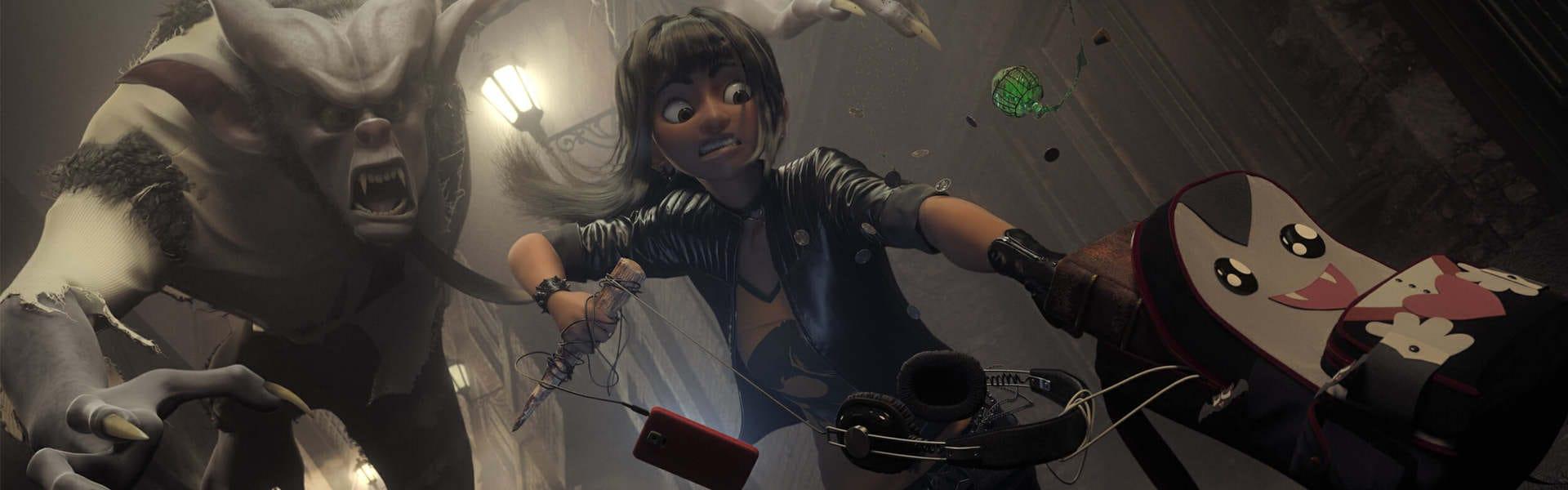 V-Ray for Blender Vampire Hunter