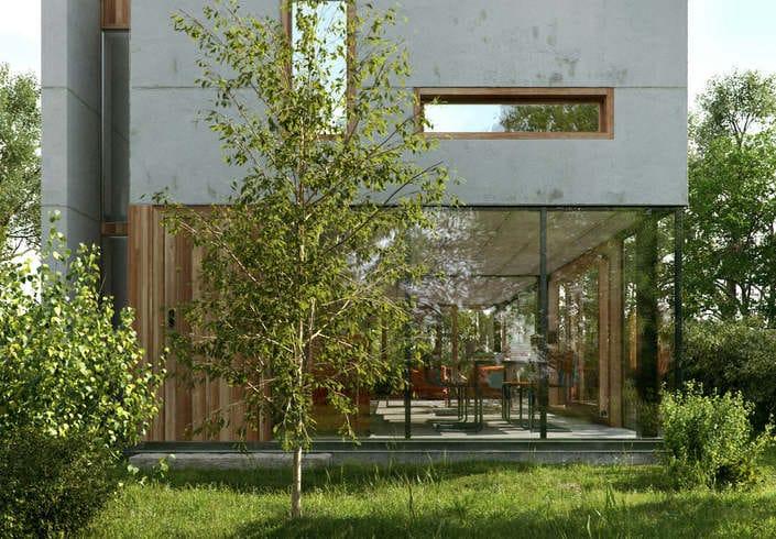 Wittaya wangpuk house gepo architecture 3ds max 01 spotlight