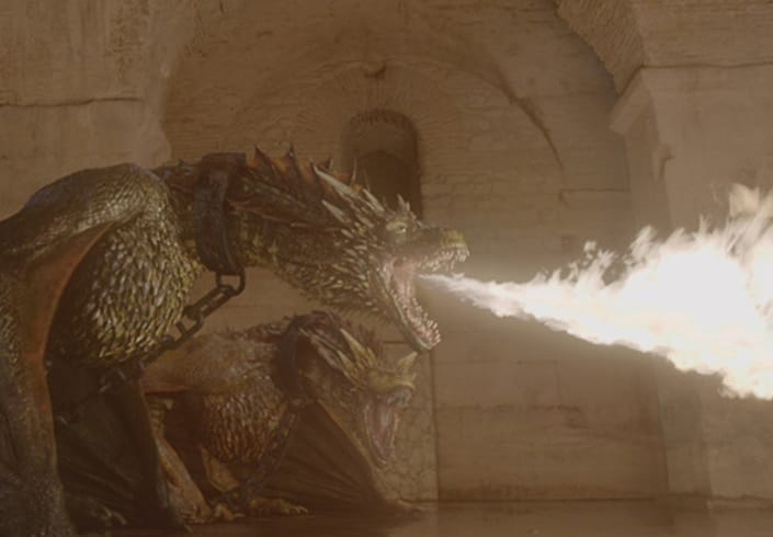 Pixomondo game of thrones season 5 dragons vfx television vray maya 01 spotlight