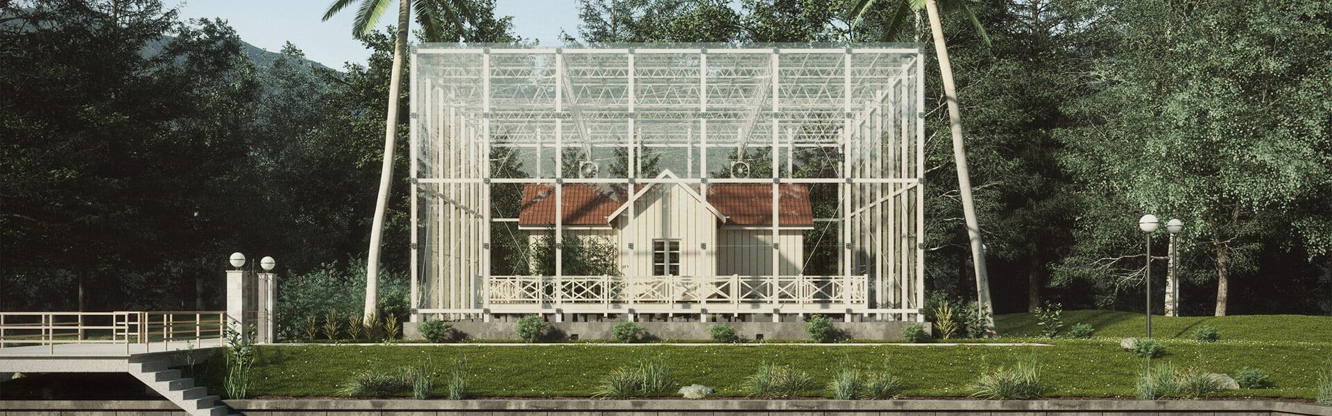 David santos sarmiento museum architecture vray skecthup 01 1920x600px.