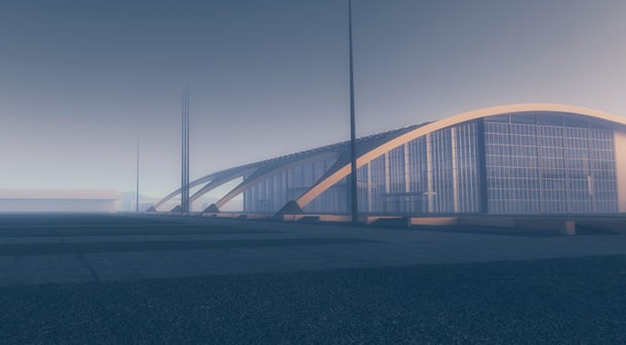 V-Ray for Revit Aerial Perspective