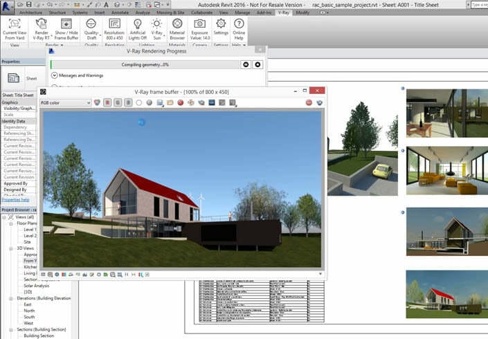 V Ray For Revit Professional Rendering Software For