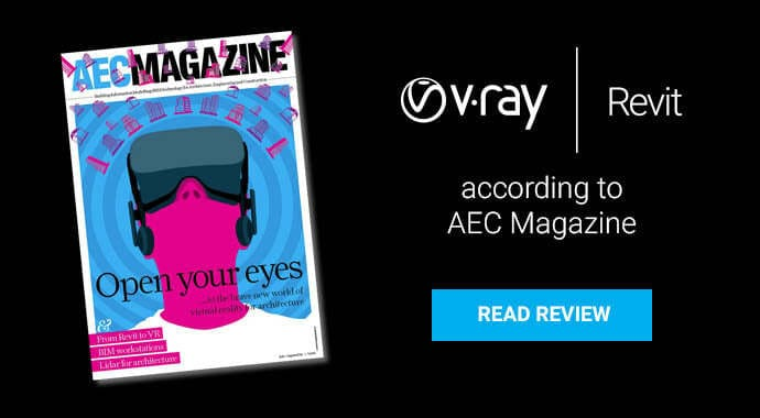 V-Ray AEC Magazine Review