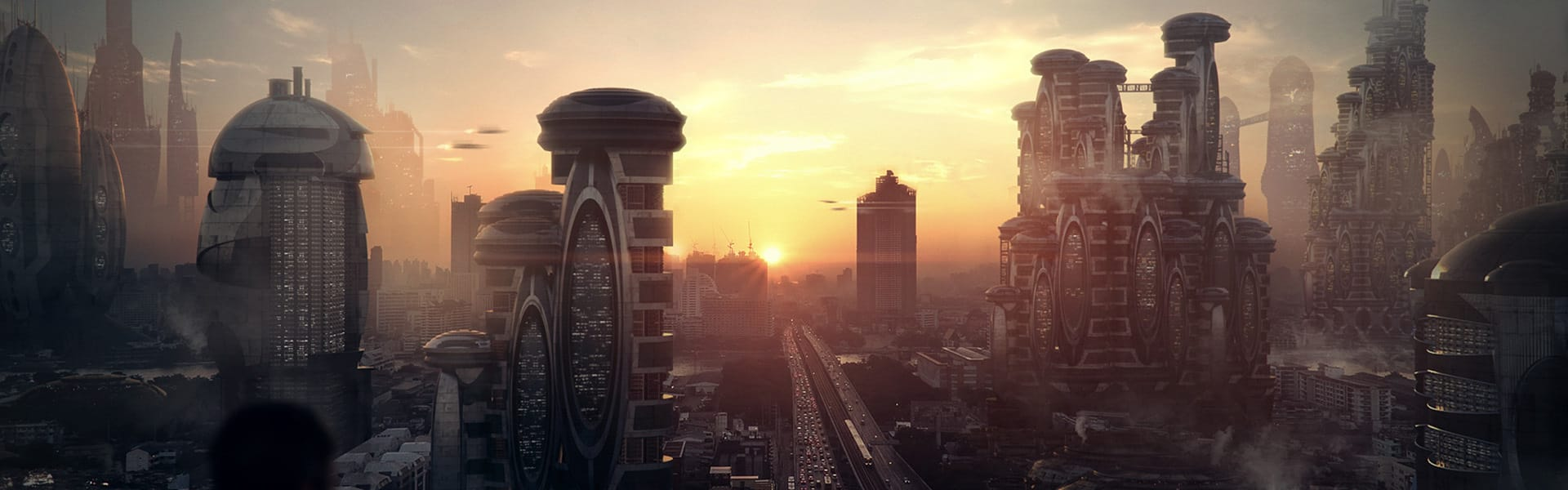 V-Ray for 3ds Max Cityscape Michael Johnson Sci-Fi City