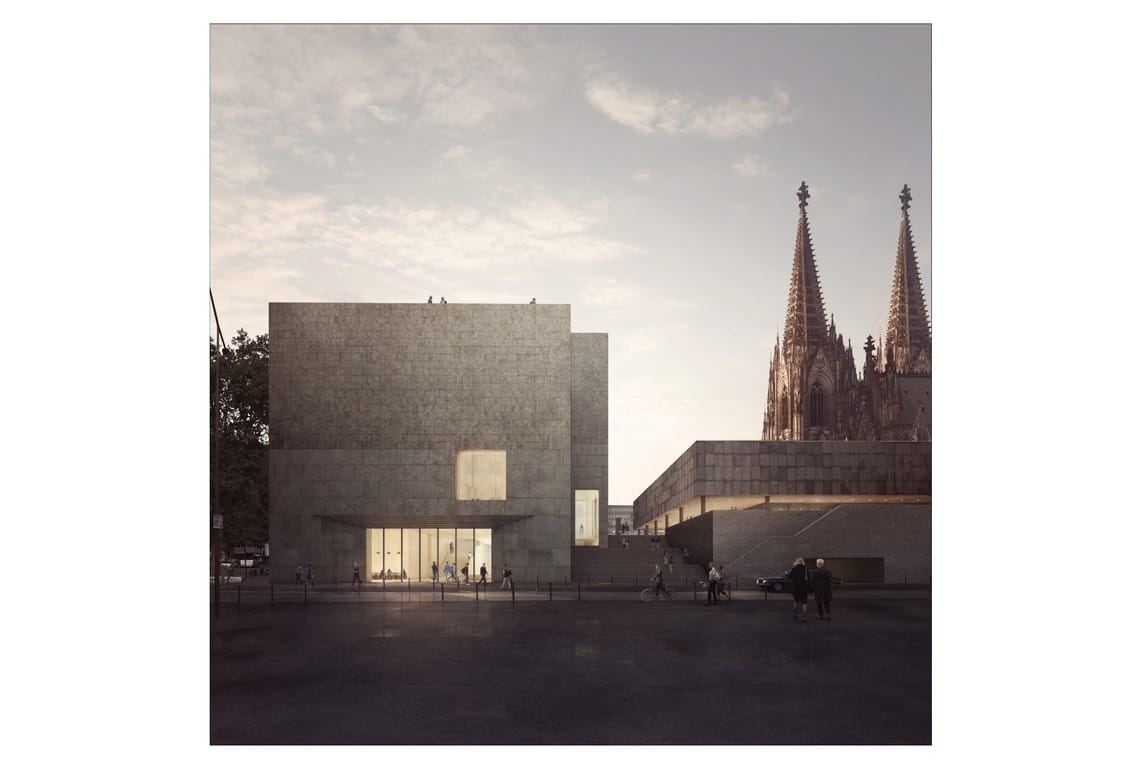 Carmody Groarke Cologne Museum Forbes Massie