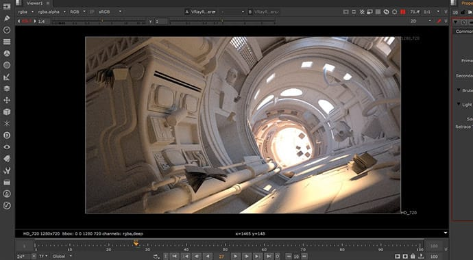 V-Ray for NUKE Lightcache