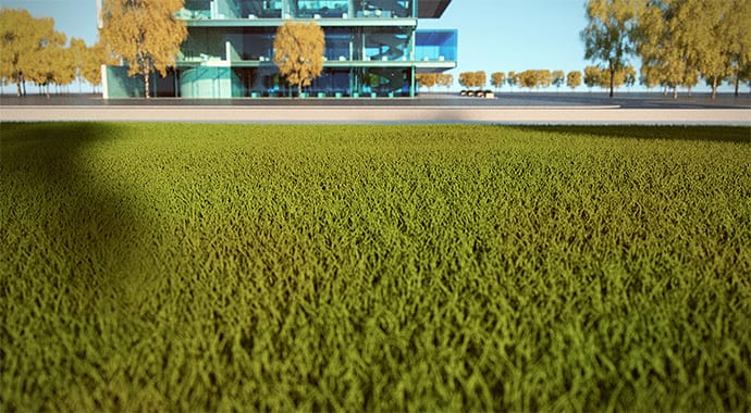 V-Ray for SketchUp Grass
