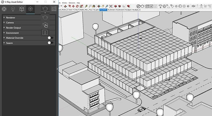 V-Ray for SketchUp Scene Export