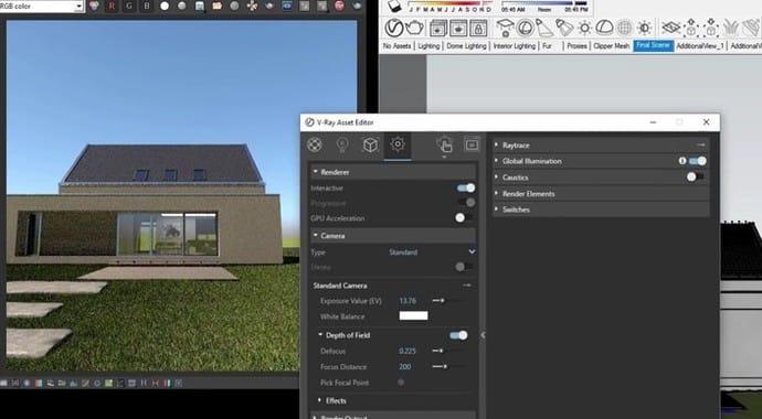V-Ray for Sketchup Quickstart