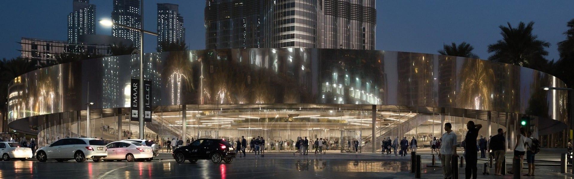 Hyperloop One Dubai Station TMRW