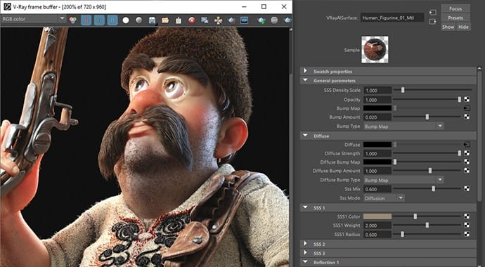 V-Ray for Maya – Professional Rendering Software for VFX Artists