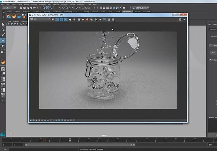 Phoenix FD for Maya – Fluid Dynamics for Artists | Chaos Group