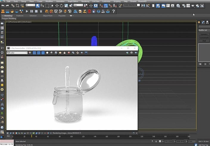 Моделирование жидкости в 3ds Max