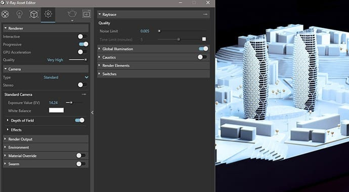 V-Ray for Rhino New UI