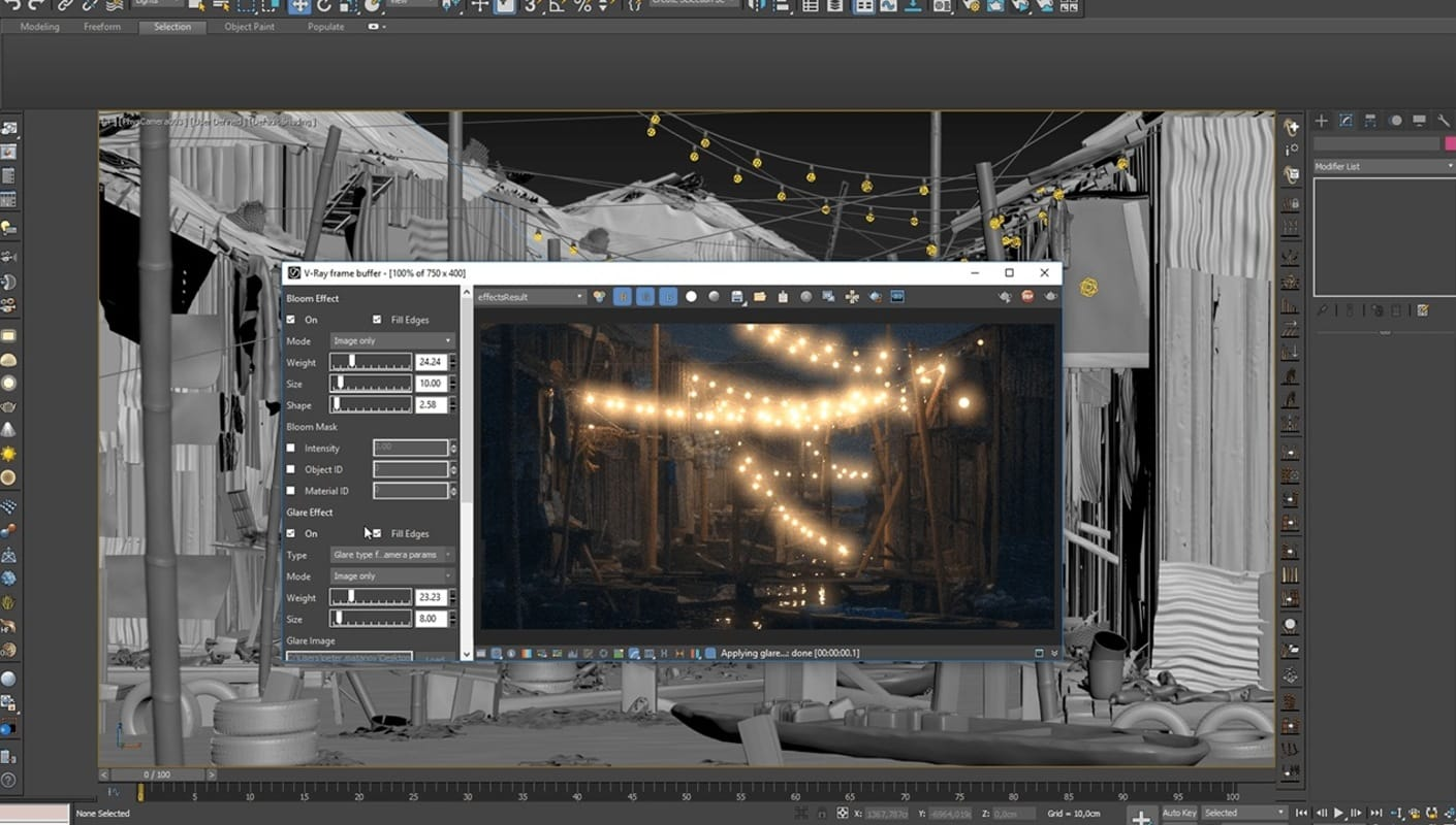 V-Ray Frame Buffer — V-Ray for 3ds Max | Chaos Group