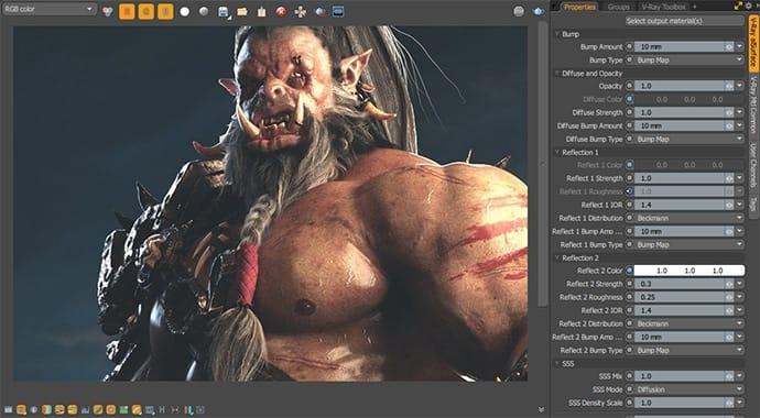 V-Ray for MODO Alsurface