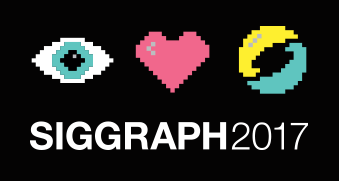 Siggraph 2017 badge