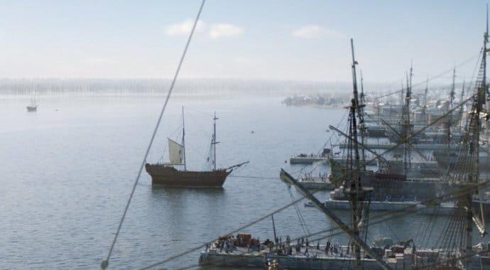 Screen Scene Black Sails V-Ray 3ds Max
