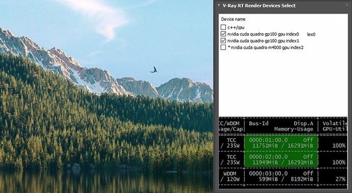 V-Ray for 3ds Max Nvidia Nvlink