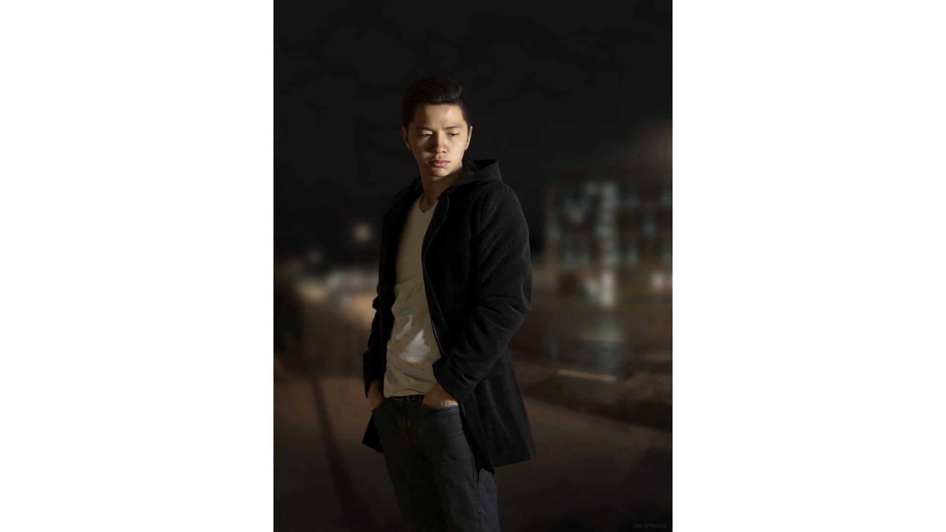 Steve Wang portrait Ian Spriggs
