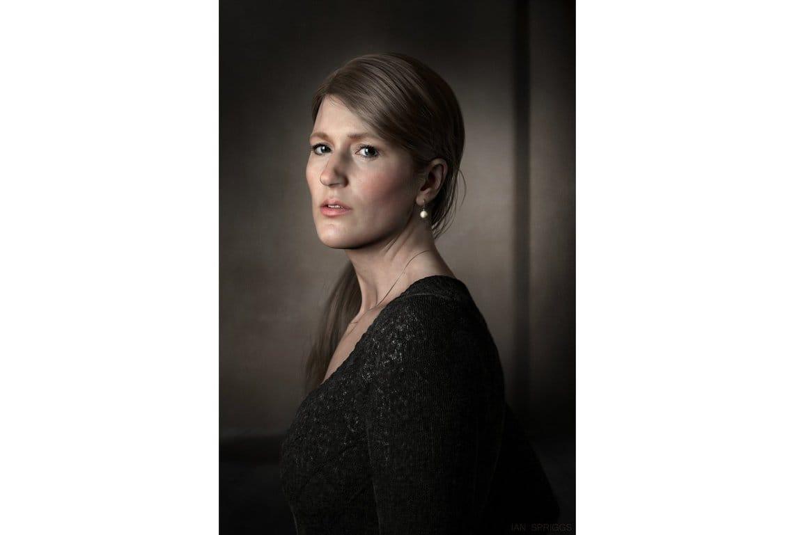 Heather Spriggs portrait Ian Spriggs