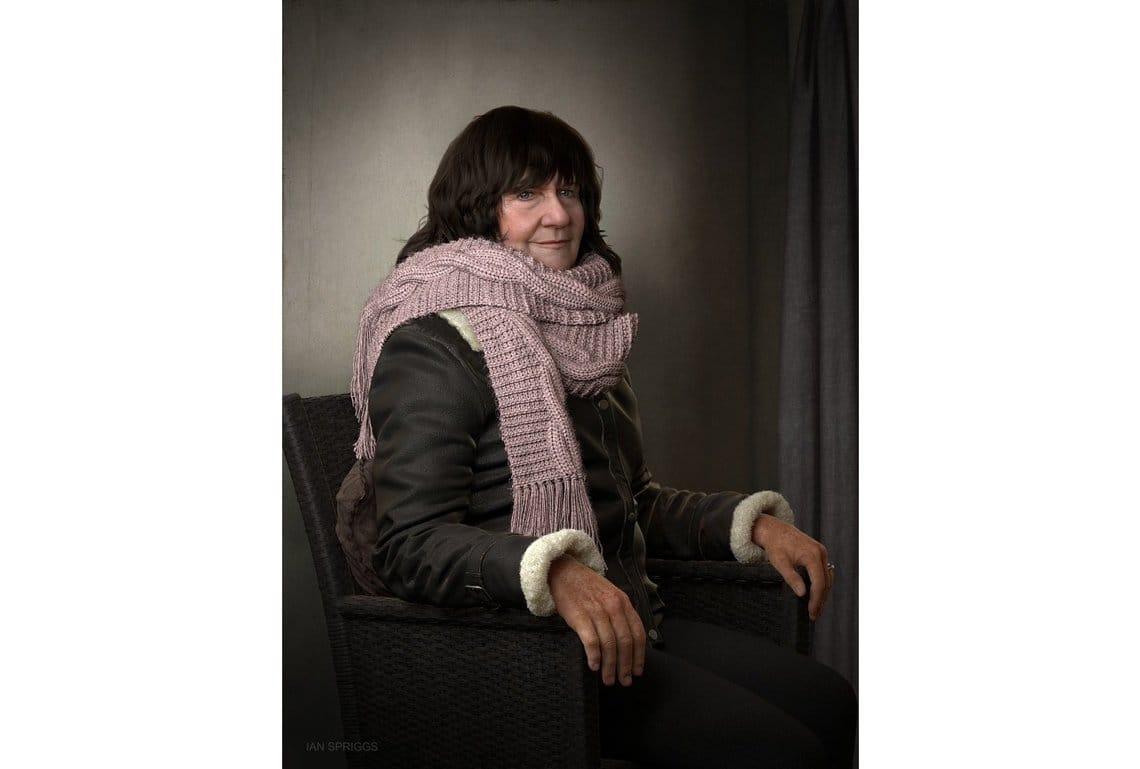 Pamela Spriggs portrait Ian Spriggs