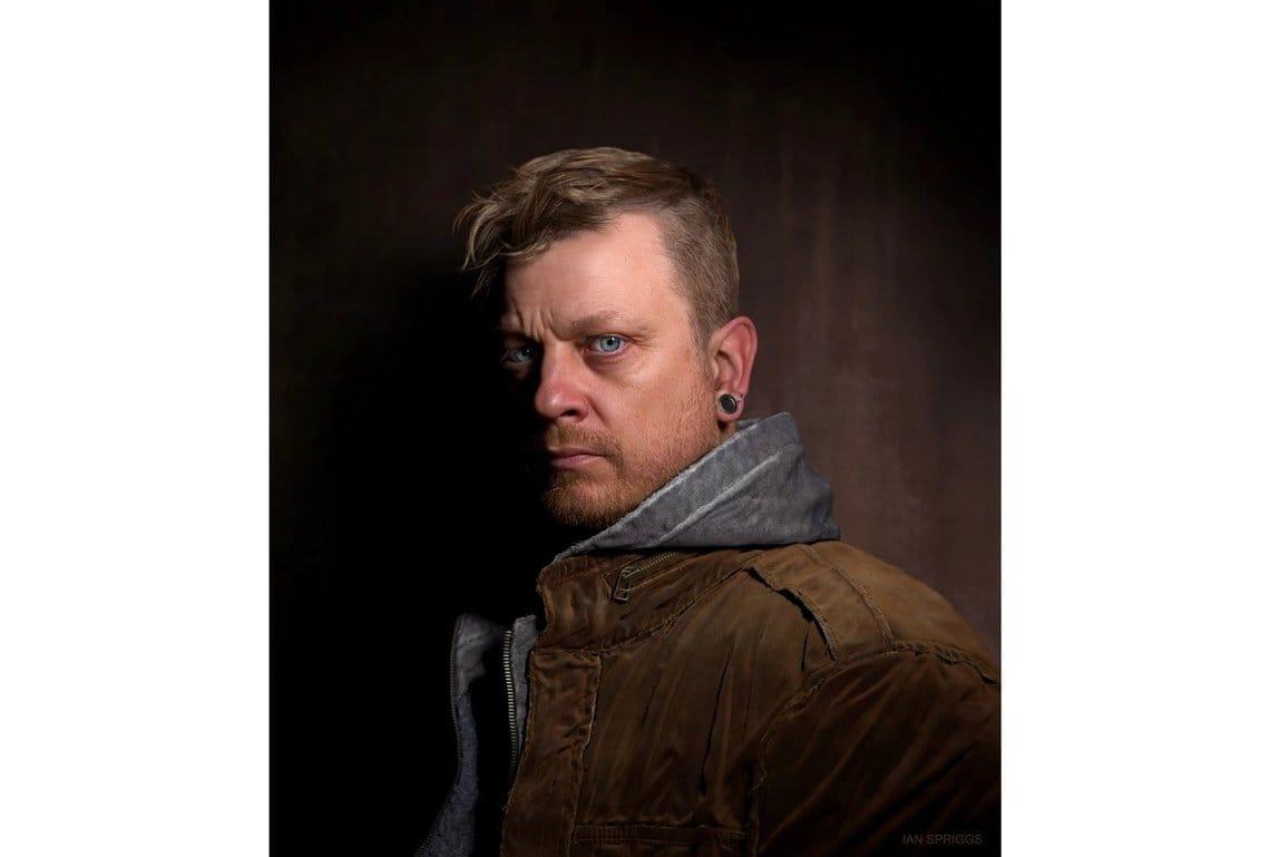 Sean Frandsen portrait Ian Spriggs
