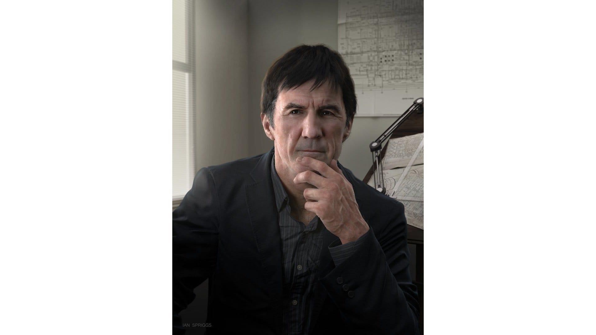 Ian Spriggs Self Portrait