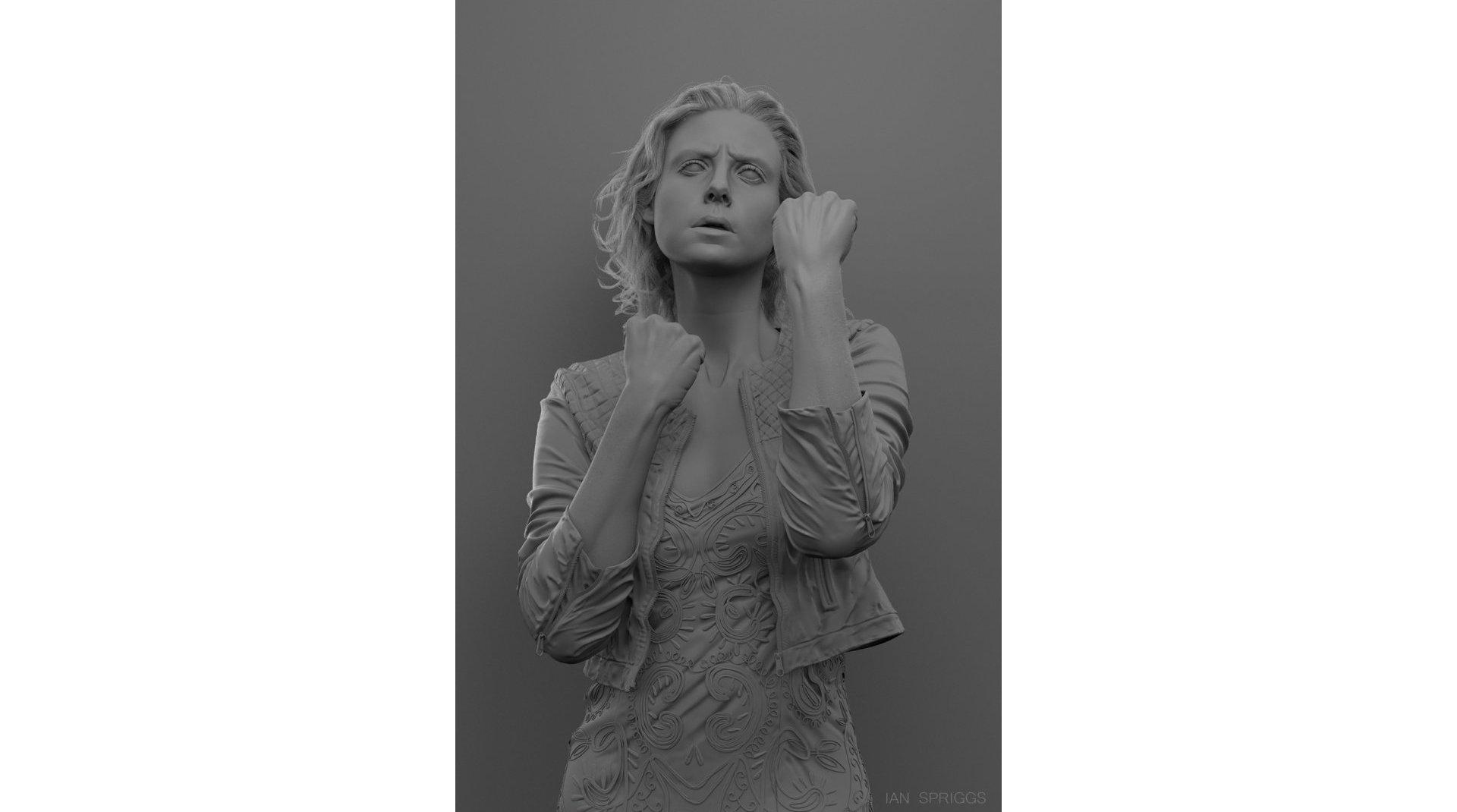 Ian Spriggs Heidi portrait