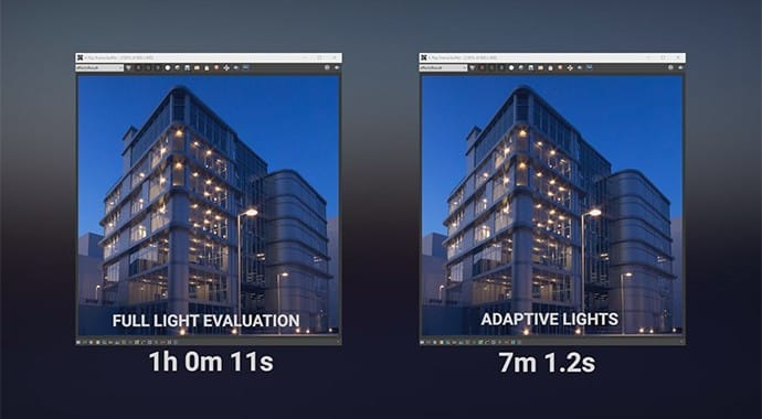 V-Ray for Revit Adaptive Lights