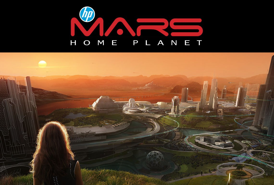 Hp mars home planet news