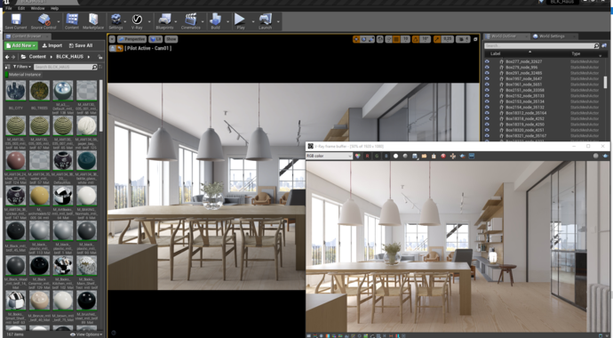 V-Ray for Unreal – V-Ray Scene Import & Ray Traced Rendering