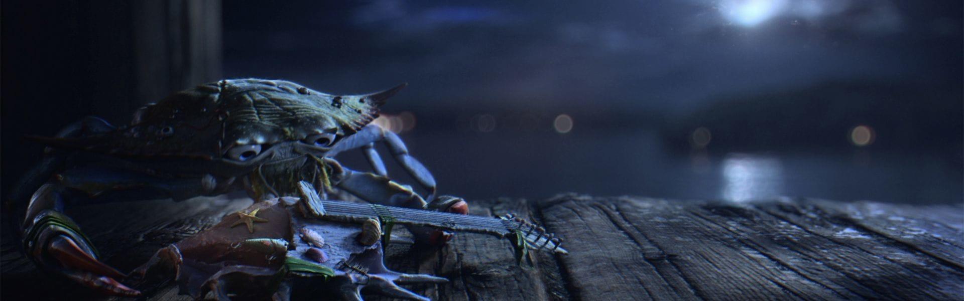 Curv Studios The Blues Crab