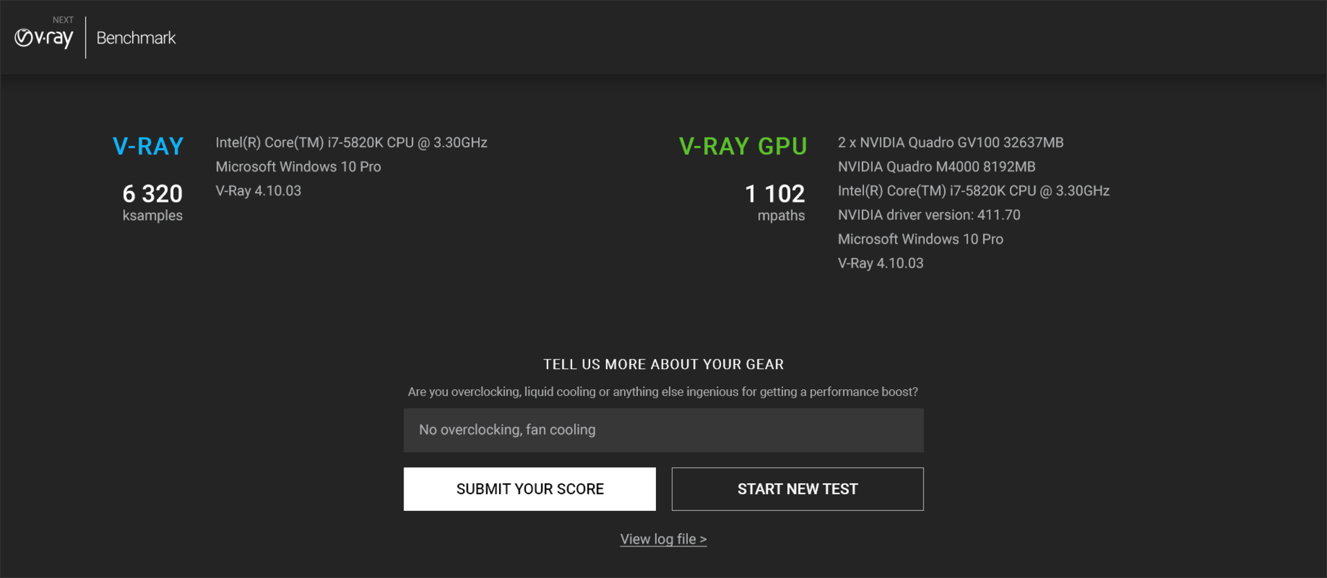 V-Ray Benchmark – Standalone app for testing CPU and GPU render